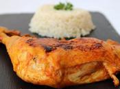 Cuisses poulet lait coco curry