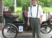 construit réplique d'une voiture 1906 grâce Google Books