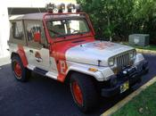 Jeep couleurs Jurassic Park