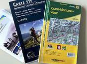 Crans-Montana jour cartes randonnées vous suggère balades