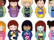 héroïnes Disney poupées japonaises