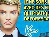 Déforestation Barbie impliquée Greenpeace dénonce