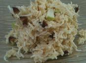 Salade céleri cranberries, noix Brésil pomme Granny Smith