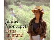 Dans grand vent fleurs Janine Montupet