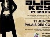 Alicia Keys Paris c'est demain soir