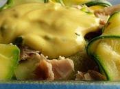 """Salade poulet rubans courgette, sauce """"light"""" l'estragon"""