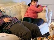 centaines d'enfants Angleterre souffrent d'obésité