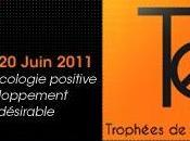 Trophées l'Ecologie 2011, 1ère édition, i>TELE, lundi Juin…