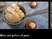 Glace lychees yuzu