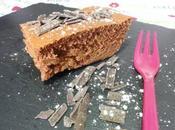 Gateau chocolat trop moelleux sans sucre matière grasse