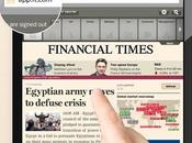 Financial Times utilisateurs pour application HTML5