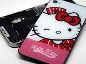 coque arrière Hello Kitty pour iPhone