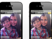 Innovations Gros plan retouches photos iPhone...