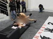artiste chinois fait l'amour dans exposition