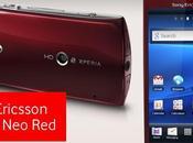 Sony Ericsson voit rouge