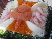 Salade génoise fruits (spécialité suèdoise)