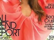 Mila Kunis fait couverture magazine Flare, Aout 2011