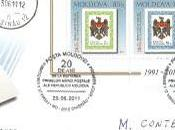 1ère émission timbres Moldavie