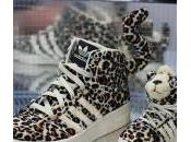 adidas Originals Jeremy Scott Leopard Sneakers