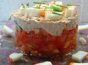 Mousse thon tartare tomates