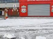 rénovation d'Anfield plomb dans l'aile