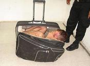 Tentative d'évasion prison dans valise (photos vidéo)