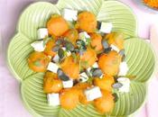 Sweet Potato Feta salad Salade patate douce feta