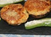 Champignons minis concombre farcis boursin