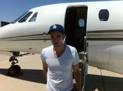 Robert Pattinson private airport Toronto