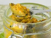 Punjabi Mango Pickles Indian Cooking Challenge mangue verte