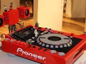 platine Pioneer ornée Lego
