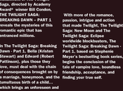 Description officielle Breaking Dawn (US)