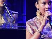 Alicia Keys chante pour concert charité
