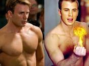 L'entraînement Chris Evans pour Captain America