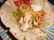 Salade tacos wrap