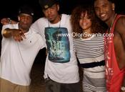 Images Rihanna rejoint Cole Trey Songz tournage leur clip