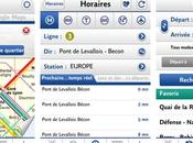 l'appli RATP iPhone Android