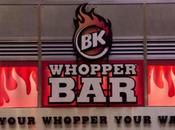 Whopper Bar, temple Burger King York