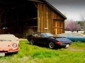 Ferrari Dino, Daytona Maserati Bora dormaient fond d'une grange depuis plus