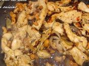 Poulet noix cajou caramélisées