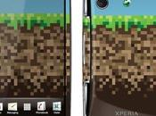 édition Minecraft pour l'Xperia Play Sony Ericsson