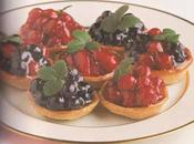 Tartelettes fruits confits sirop d'érable