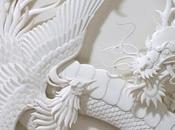 Jeff Niska, sculpteur papier…