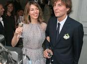 premières photos mariage Sofia Coppola robe lavande...