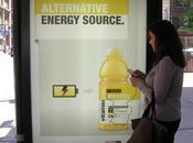 Publicité Print arrêt Vitamin Water recharge votre téléphone