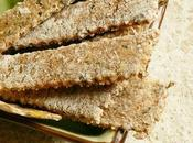 Crackers d'avoine algues nori
