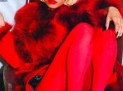 Nicki Minaj tout rouge vêtue pour Glamour Magazine