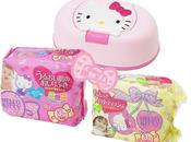 lingettes Hello Kitty