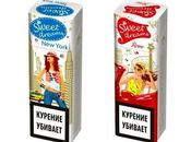 Packaging 100% fille pour cigarettes Sweet Dreams Russie