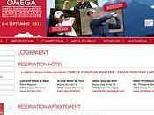 L'Omega European Masters possède propre structure pour gestion l'hébergement